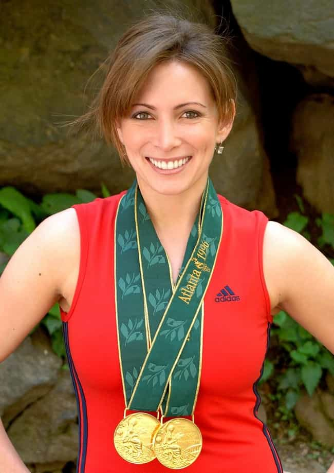Shannon Miller is listed (or ranked) 2 on the list Famous Athletes Who Are Lawyers