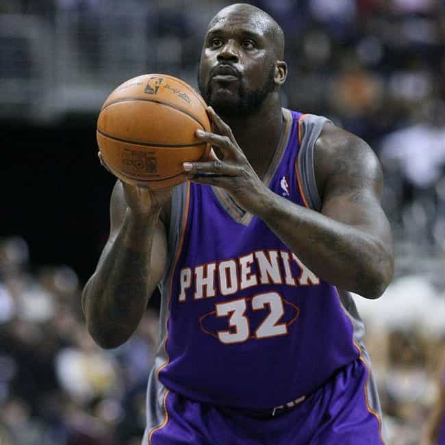 Shaquille O'Neal is listed (or ranked) 4 on the list The Best Athletes Who Wore #32