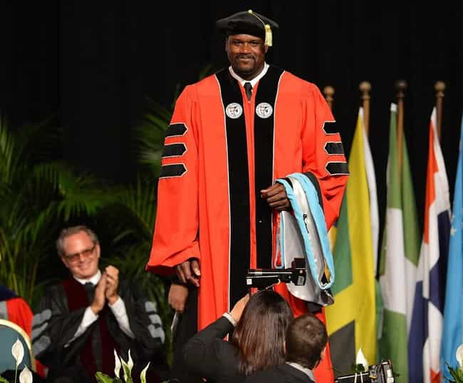 Shaquille O'Neal is listed (or ranked) 1 on the list 11 Famous Athletes Who Are Doctors