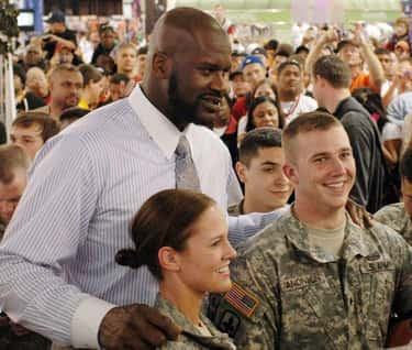 Shaquille O'Neal is listed (or ranked) 1 on the list 26 Famous People Over 7 Feet Tall