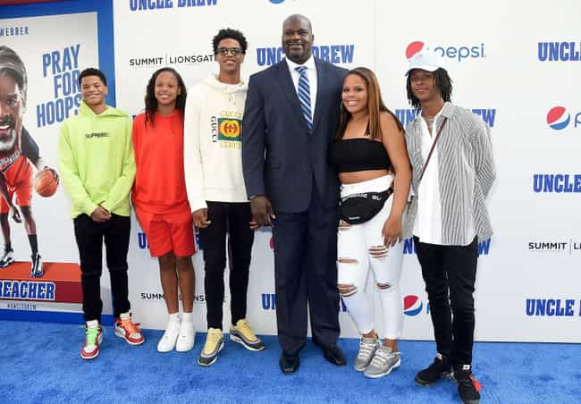 Shaquille O'Neal is listed (or ranked) 3 on the list NBA Players with the Most Kids