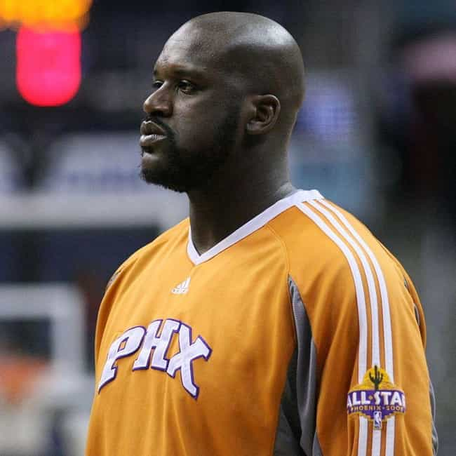 Shaquille O'Neal is listed (or ranked) 3 on the list The Best Athletes Who Wore #33