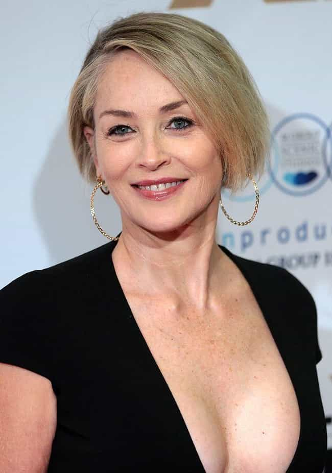 Sharon Stone is listed (or ranked) 4 on the list 20 Celebrities Who Once Worked at McDonald's