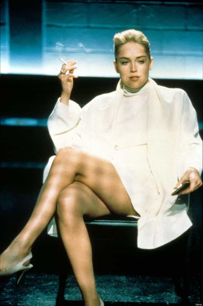 Sharon Stone is listed (or ranked) 1 on the list The Most Gorgeous Crossed Legs in Movies