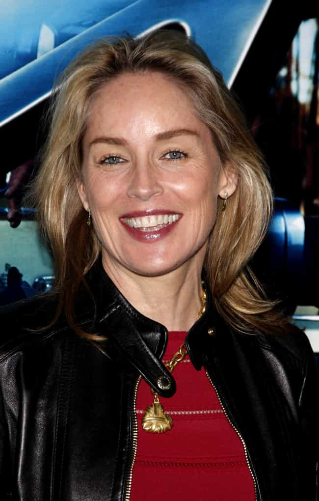 Sharon Stone is listed (or ranked) 4 on the list 28 Celebrities Who Once Worked at McDonald's