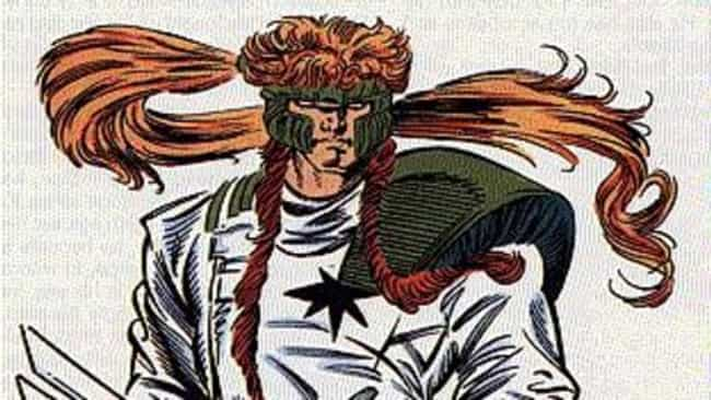 Shatterstar is listed (or ranked) 1 on the list The Worst Haircuts Ever Sported by Superheroes