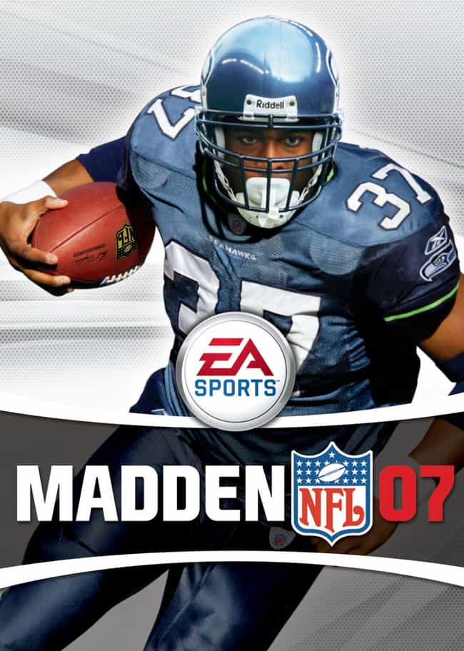 Shaun Alexander is listed (or ranked) 3 on the list The Worst Cases of the Madden Curse That'll Make You Believe