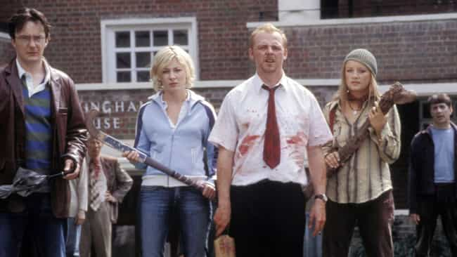 Shaun of the Dead is listed (or ranked) 1 on the list Crowd-Pleasing Horror Movies You Can Put On During A Party