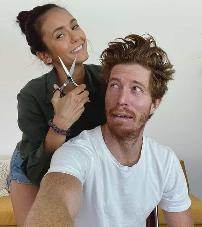 Shaun White is listed (or ranked) 1 on the list Nina Dobrev Loves and Hookups