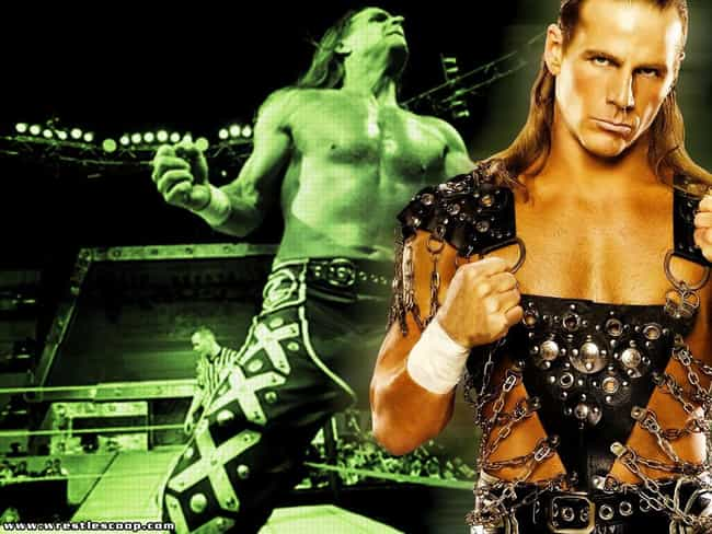 Shawn Michaels is listed (or ranked) 3 on the list 80 Famous Military Brats