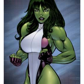 She-Hulk is listed (or ranked) 24 on the list The Best Female Comic Book Characters
