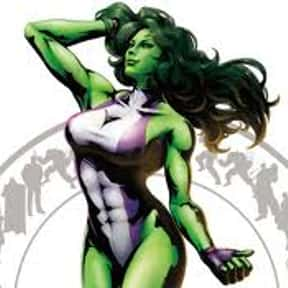 She-Hulk is listed (or ranked) 24 on the list Fictional Lawyers You'd Most Want Defending You