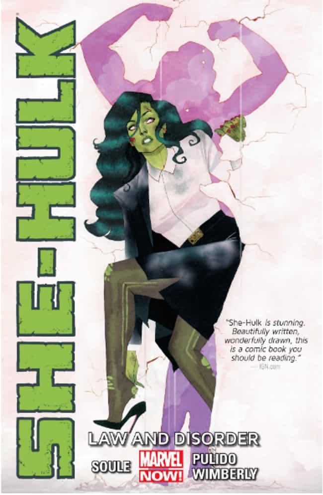 She-Hulk is listed (or ranked) 2 on the list 12 Female Comics Characters Who Are Smarter Than You