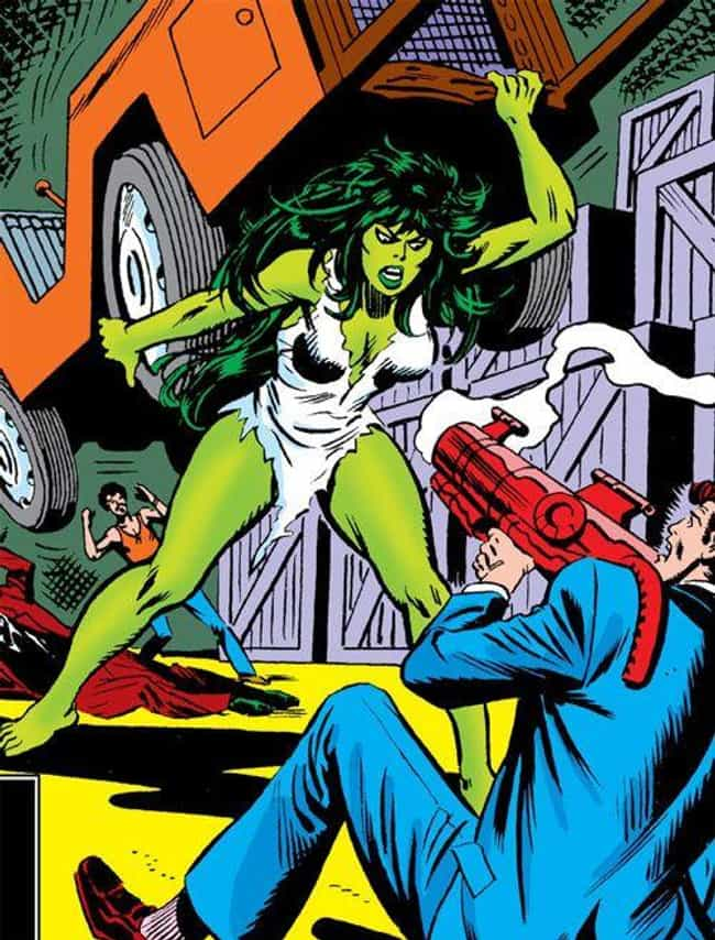 She-Hulk is listed (or ranked) 2 on the list The Coolest Avengers Who Haven't Shown Up In The MCU Yet