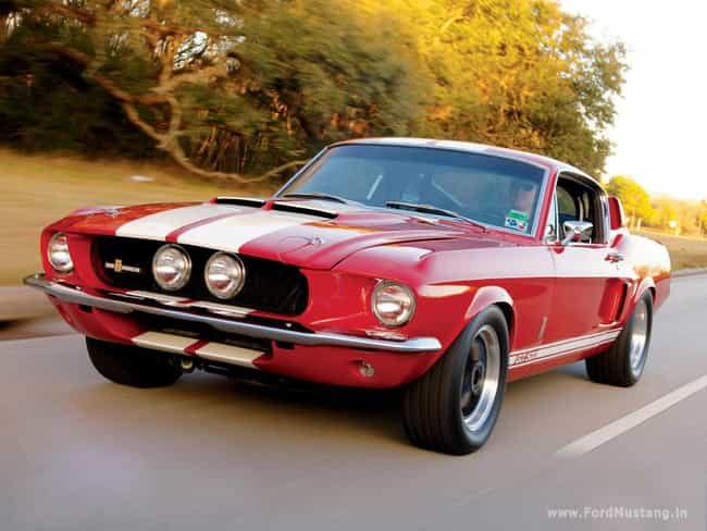 Shelby Mustang is listed (or ranked) 2 on the list The Best Muscle Cars