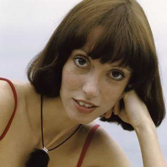 Shelley Duvall is listed (or ranked) 4 on the list Paul Simon Loves and Hookups