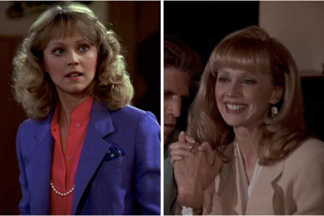 Shelley Long is listed (or ranked) 4 on the list How the Cast of Cheers Aged from the First to Last Season