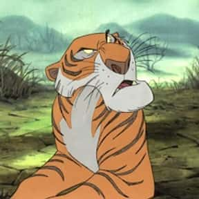 Shere Khan is listed (or ranked) 2 on the list The Greatest Tiger Characters of All Time