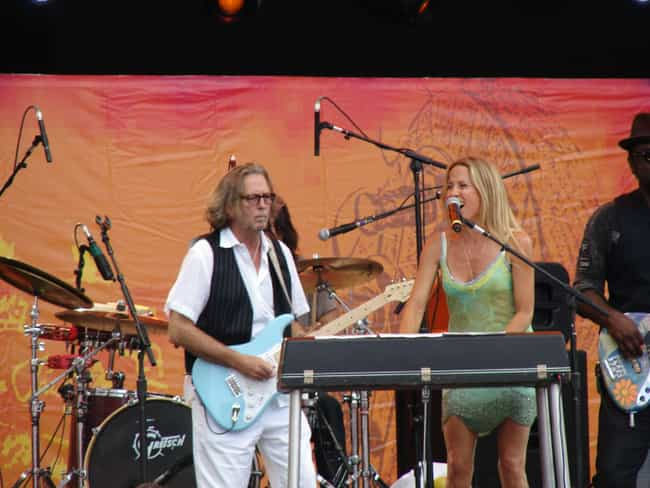 Sheryl Crow is listed (or ranked) 2 on the list Eric Clapton's Loves & Hookups