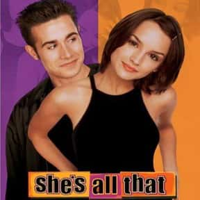 She's All That is listed (or ranked) 22 on the list The Best Teen Comedy Movies, Ranked