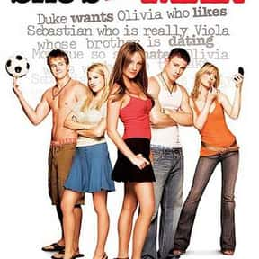 She's the Man is listed (or ranked) 7 on the list The Best Teen Comedy Movies, Ranked