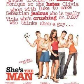 She's the Man is listed (or ranked) 16 on the list The Best PG-13 Comedies of All Time