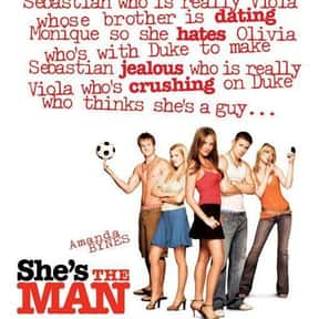 She's the Man is listed (or ranked) 20 on the list The Best Cross-Dressing Movies