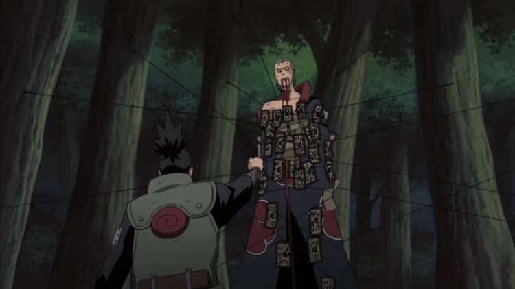 Shikamaru Destroys Hidan And Avenges Asuma In 'Naruto Shippuden'