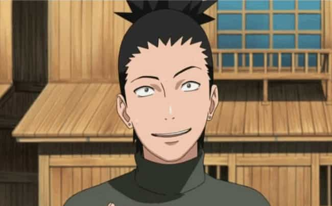 Shikamaru Nara is listed (or ranked) 1 on the list 15 Anime Characters Who Probably Smoke Weed