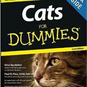 Cats for Dummies is listed (or ranked) 6 on the list The Best Books About Cat Care