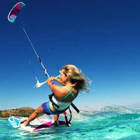Kitesurfing is listed (or ranked) 6 on the list The Best Water Sports