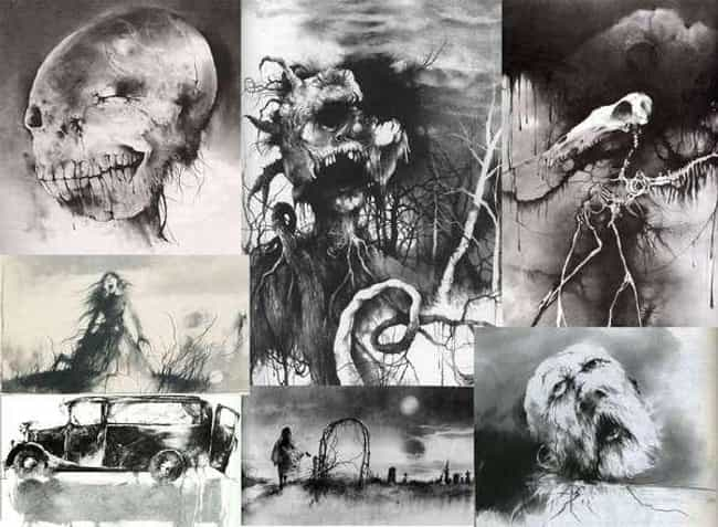 Scary stories to tell in the d... is listed (or ranked) 2 on the list 60+ of Your Greatest Childhood Fears