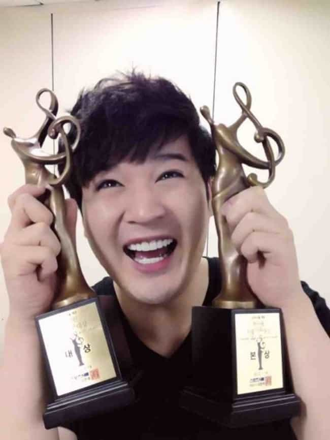 Shindong is listed (or ranked) 3 on the list K-Pop Idols That Use Fake Names