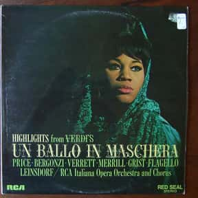 Shirley Verrett is listed (or ranked) 9 on the list The Greatest Female Opera Singers of All Time