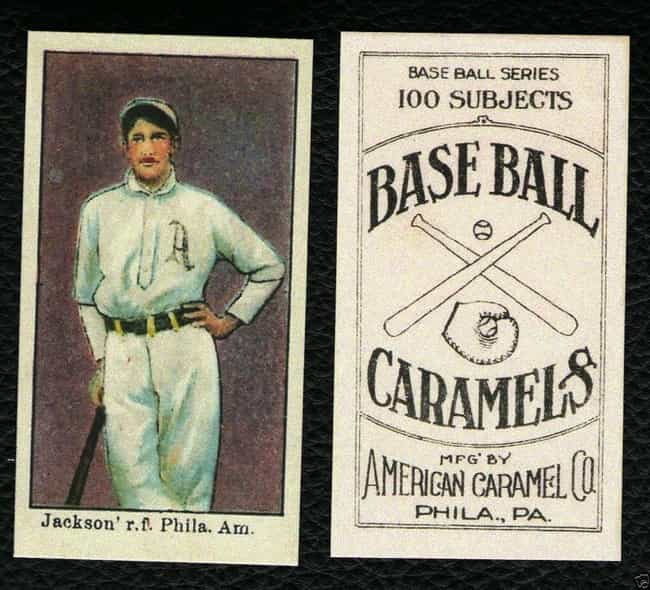 Shoeless Joe Jackson is listed (or ranked) 3 on the list Rare, Valuable Baseball Cards From History