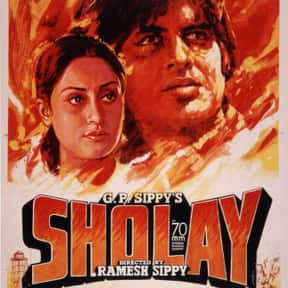 Sholay is listed (or ranked) 2 on the list The Best Amitabh Bachchan Movies