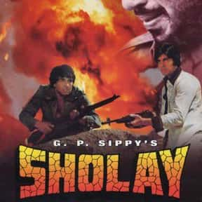 Sholay is listed (or ranked) 1 on the list The Best Bollywood Movies of All Time