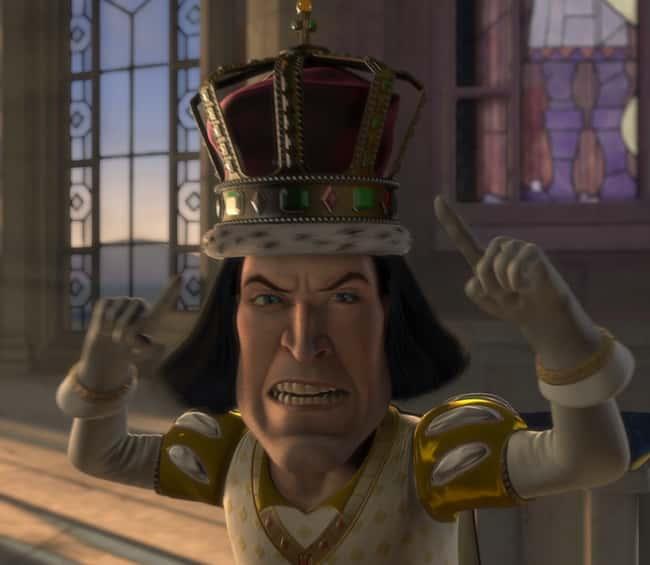 Lord Faruaad in Shrek Movies