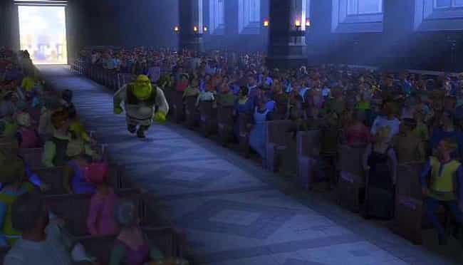 Shrek is listed (or ranked) 1 on the list The Best Wedding Objection Scenes in Film History