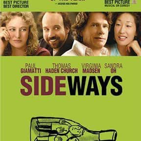 Sideways is listed (or ranked) 18 on the list The Funniest Road Trip Comedy Movies