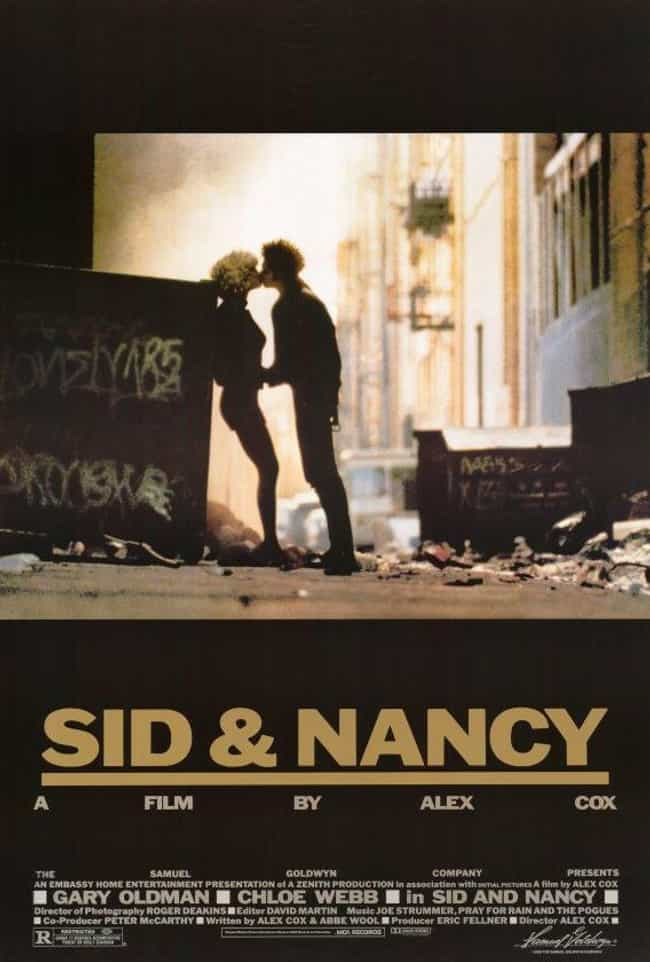 Sid and Nancy is listed (or ranked) 3 on the list The Best Movies and TV Shows About Heroin Addiction