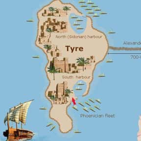 Siege of Tyre is listed (or ranked) 10 on the list The Most Incredible Sieges of All Time