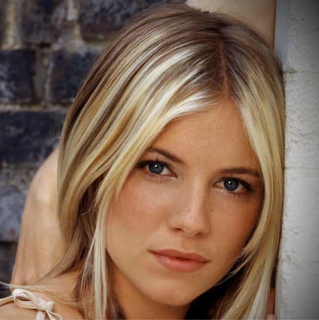 Sienna Miller is listed (or ranked) 1 on the list Beautiful Celebrity Girls with Adorable Freckles