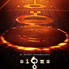 Signs is listed (or ranked) 14 on the list The Best PG-13 Horror Movies