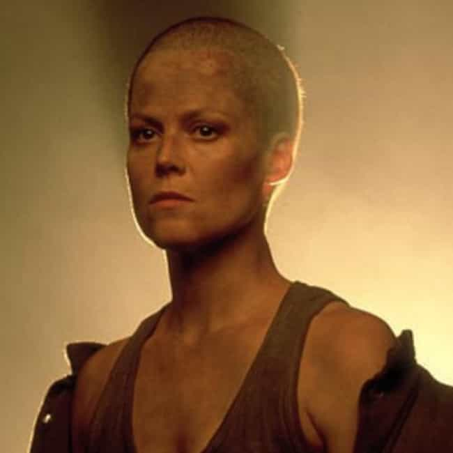 Sigourney Weaver is listed (or ranked) 4 on the list 8 Actresses Who Shaved Their Heads For Movie Roles