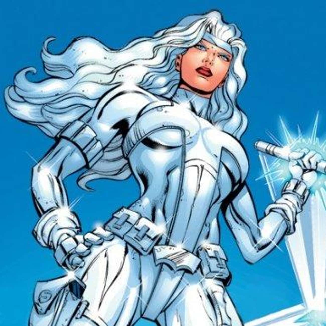 Silver Sable is listed (or ranked) 3 on the list The Best Female Superhero Team Leaders