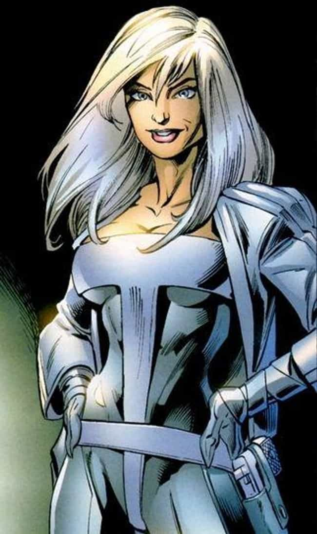 Silver Sable is listed (or ranked) 3 on the list The Best Comic Book Characters Who Have Blue Eyes