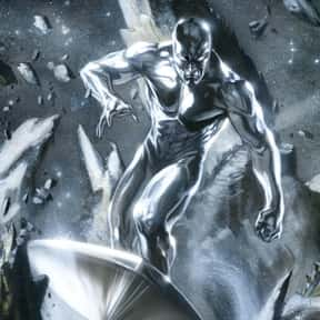Silver Surfer is listed (or ranked) 18 on the list The Top Marvel Comics Superheroes