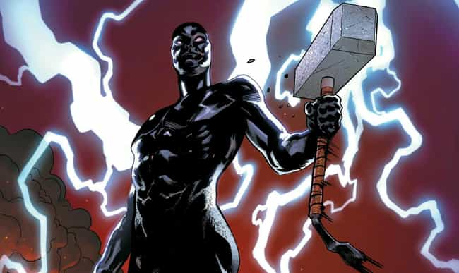 Silver Surfer is listed (or ranked) 7 on the list Everyone Who Has Wielded Mjolnir In Marvel Comics