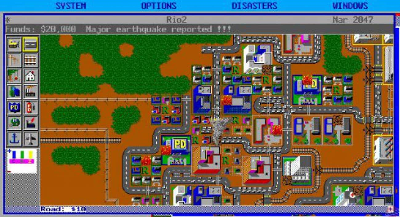 SimCity is listed (or ranked) 3 on the list Edutainment Games From Your Childhood You Totally Forgot About